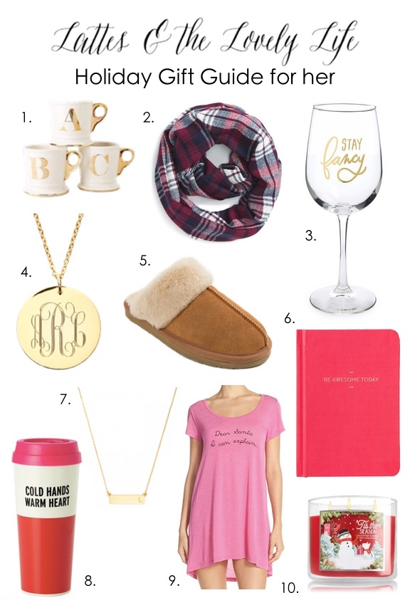 Looking for the perfect gift for the women in your life? Look no further. L&LL has you covered with our gift guide for her.