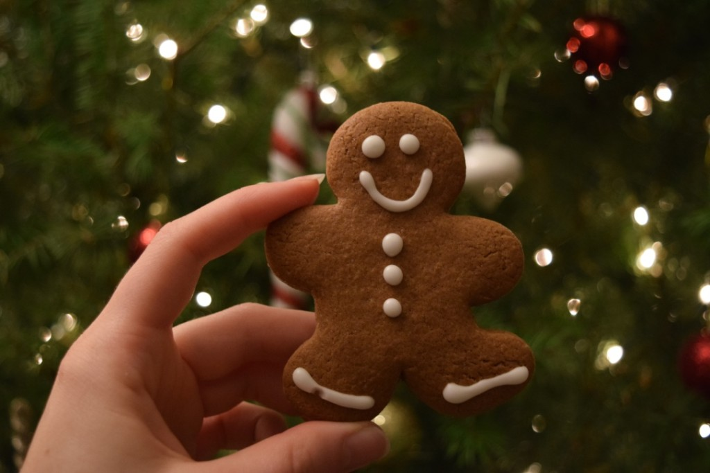 The classic holiday treat, gingerbread men cookies.